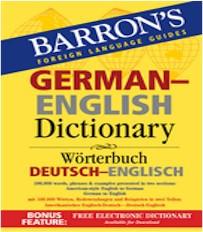 Barron's German-English Dictionary