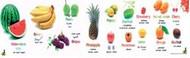 Poster: Fruit (Multilingual)
