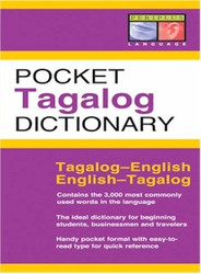 Pocket Tagalog Dictionary (Tagalog-English)