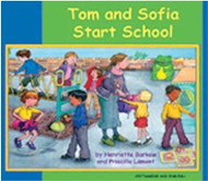 Tom and Sofia Start School (Greek-English)