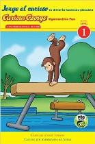 Curious George Gymnastics Fun (Spanish-English)