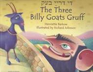 The Three Billy Goats Gruff (Latvian-English)