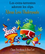 Aliens Love Underpants (Lithuanian-English)