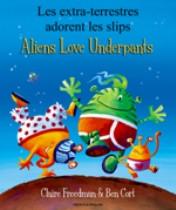 Aliens Love Underpants (Portuguese-English)