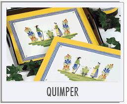 Lady Clare Quimper Placemats