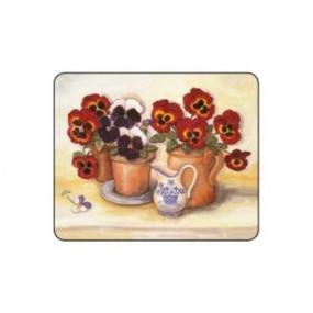 Lady Clare Coasters Pansies & Violas