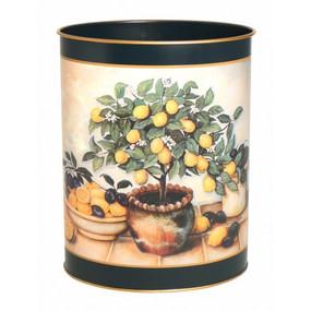 Waste Paper Bin Lemon Tree - Lady Clare Placemats