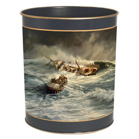 Waste Paper Bin Lifeboat  - Lady Clare Placemats