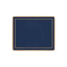 Lady Clare Coasters Oxford Blue Screened