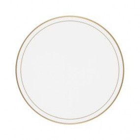 Lady Clare Round Tablemats White Screened