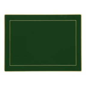 Lady Clare Placemats Bottle Green Screened