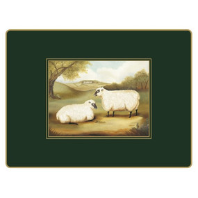 Lady Clare Continental Placemats Naive Animals