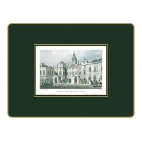 Lady Clare Placemats Shepherd's London - Green