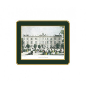 Lady Clare Coasters Shepherd's London - Green