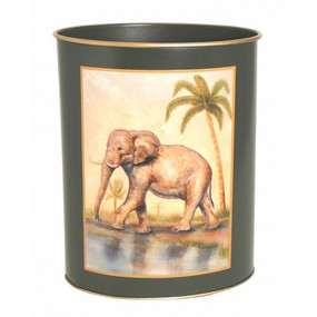 Waste Paper Bin African Animals - Lady Clare Placemats