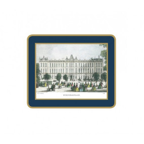 Lady Clare Coasters Shepherd's London - Oxford Blue