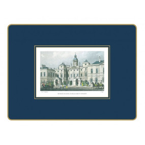 Lady Clare Placemats Shepherd's London - Oxford Blue