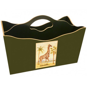 Lady Clare Magazine Rack African Animals