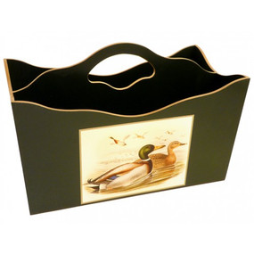 Lady Clare Magazine Rack - Gould Ducks