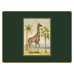 Lady Clare Continental Placemats African Animals