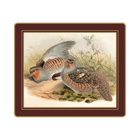 Lady Clare Tablemats Gould Game Birds