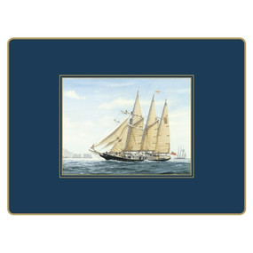 Lady Clare Continental Placemats Tall Ships
