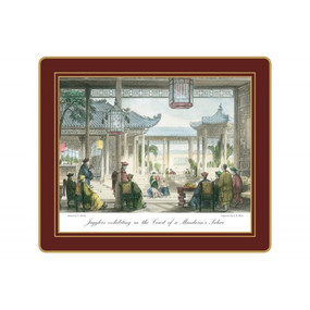 Lady Clare Tablemats Chinese Engravings