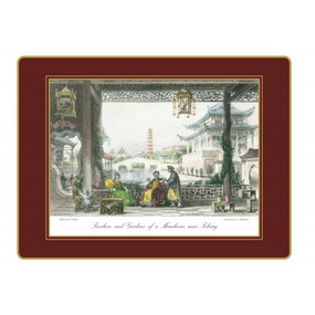 Lady Clare Continental Placemats Chinese Engravings