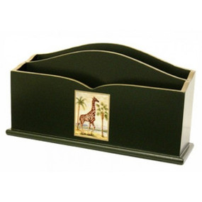 Lady Clare Letter Rack African Animals