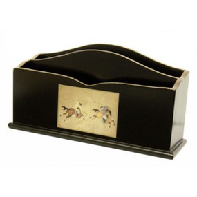 Lady Clare Letter Rack Ming Polo