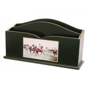 Lady Clare Letter Rack Modern Polo