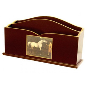 Lady Clare Letter Rack Racehorses