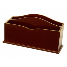 Lady Clare Letter Rack Regal Red