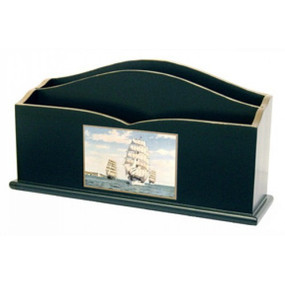 Lady Clare Letter Rack Tall Ships