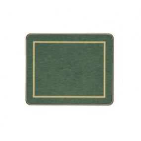 Coasters Green/Gold Melamine - Hospitality Mats - Set of 10
