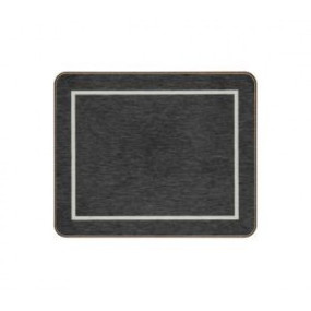 Coasters Black/Silver Melamine - Hospitality Mats - Set of 10