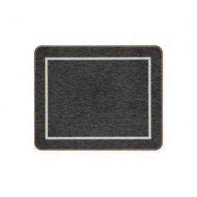Coasters Black/Silver Melamine - Hospitality Mats - Set of 10