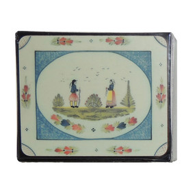 Lady Clare Mistral Blue Coasters