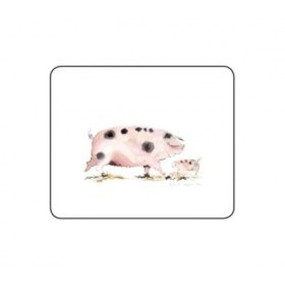 Lady Clare Coasters Pigs