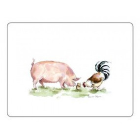 Small Placemats Pigs