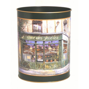 Waste Paper Bin French Shops - Lady Clare Placemats