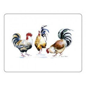 Small Placemats Chicken Groups (IN STOCK AVAILABILITY)