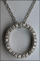 Circle of Life Diamond Pendant - .64ct