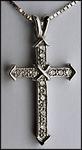 .21ct Diamond Cross Pendant
