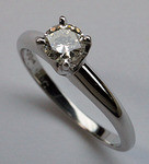 .40ct H-VS2 Solitaire Diamond Engagement Ring