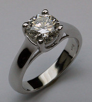 1.50ct Solitaire Diamond Engagement Ring - EGL Certified