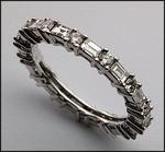 Diamond Eternity Wedding Band, 1.16ct F Color, VS2