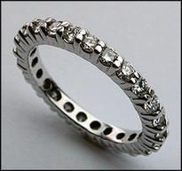 Diamond Eternity Band with Round Diamonds - 1.07ct