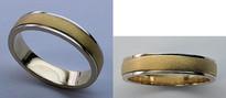 14kt Gold Mens Wedding Band