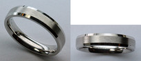 14kt Gold Ladies Wedding Band - Comfort Fit by Benchmark